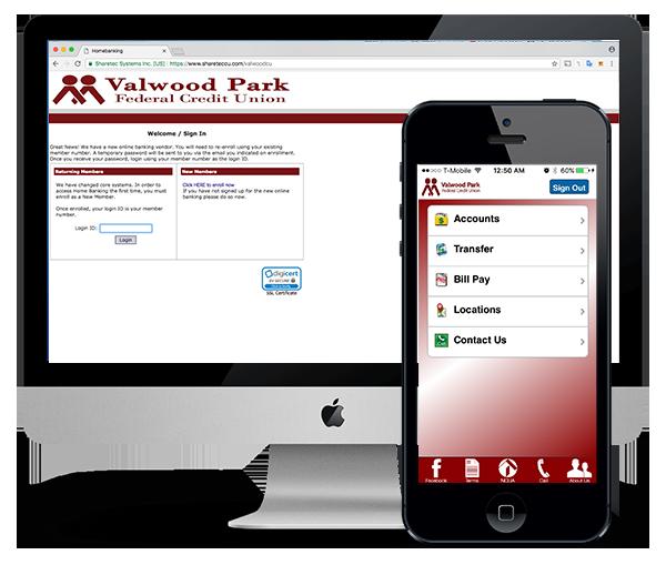 Valwood Park Online & Mobile App